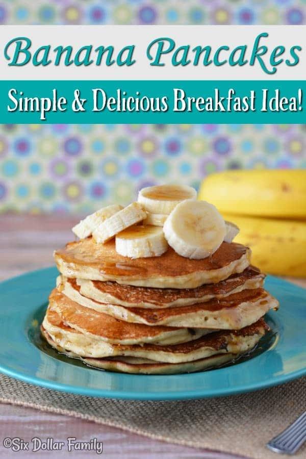 Breakfast Recipes Easy Banana Pancake Recipe