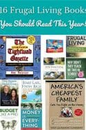 16 Frugal Living Books to Read This Year