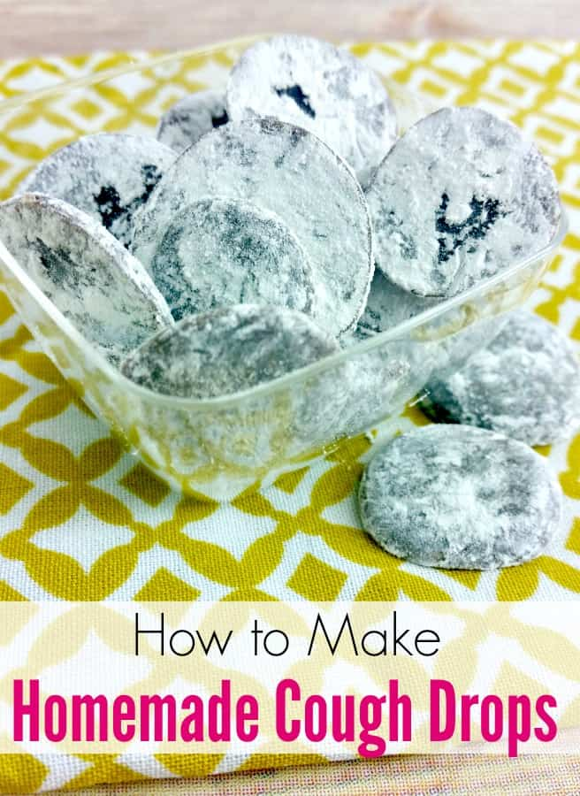 How to make homemade cough drops - Scratchy throat or cough that won't quit? Learn how to make homemade cough drops that are sure to soothe your throat and help you feel better!