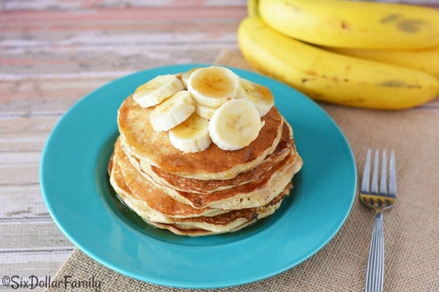 Breakfast recipes easy banana pancake recipe cook your banana pancakes in the preheated medium skillet or a cast iron griddle over mediumlow heat for 2 minutes on each side or until theyre golden ccuart Image collections