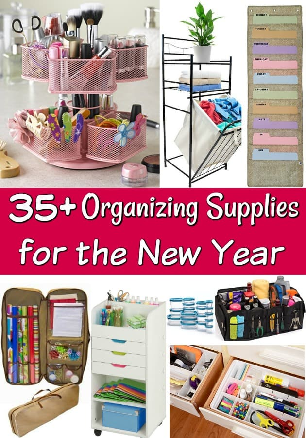35+ Organizing Supplies for Your Home - Looking to get organized soon? These organizing supplies are perfect for any budget!