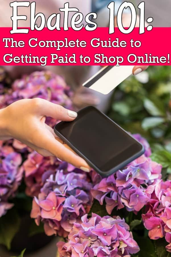 How to Get Paid to Shop Online - What is Ebates and how does Ebates work? Those are two questions I am asked almost every single day! Let me show you - step by step - how to make money with one of my favorite cash back websites on the net!