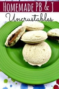 Homemade Uncrustables - Why pay for expensive frozen Uncrustables? Learn how to make this homemade Uncrustables recipe in just a few minutes! Cheaper, fresher and kid approved!