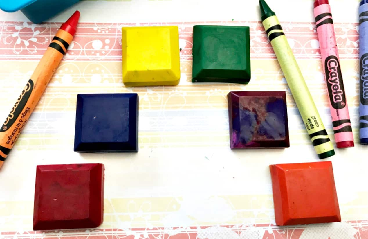 No Waste Home - How to Make Recycled Crayons at Home
