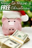 How to Save Money on Christmas by Having a Free Christmas