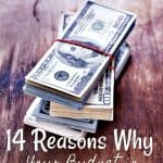 14 Reasons Your Household Budget is Failing {and How to Make Your Money Work for You}