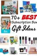 Best Subscription Boxes for Gift Ideas - Looking for a unique gift idea this year? Check out this gift guide for OVER 70 of the best subscription box gift ideas! There's one (or more!) for everyone on your list including the dog!