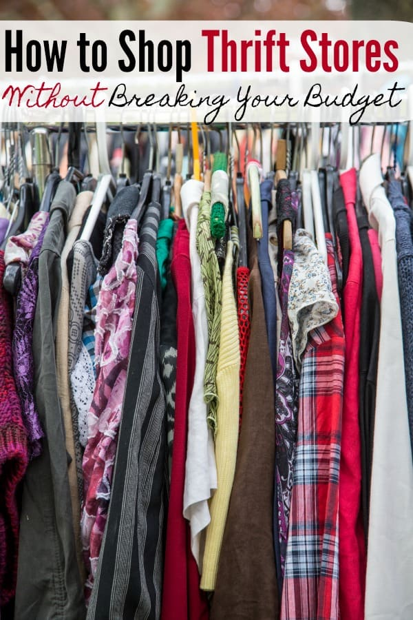 d7c3aa9aef1 Thrift Store Shopping Tips to Help You Budget - Do you love shopping at thrift  stores