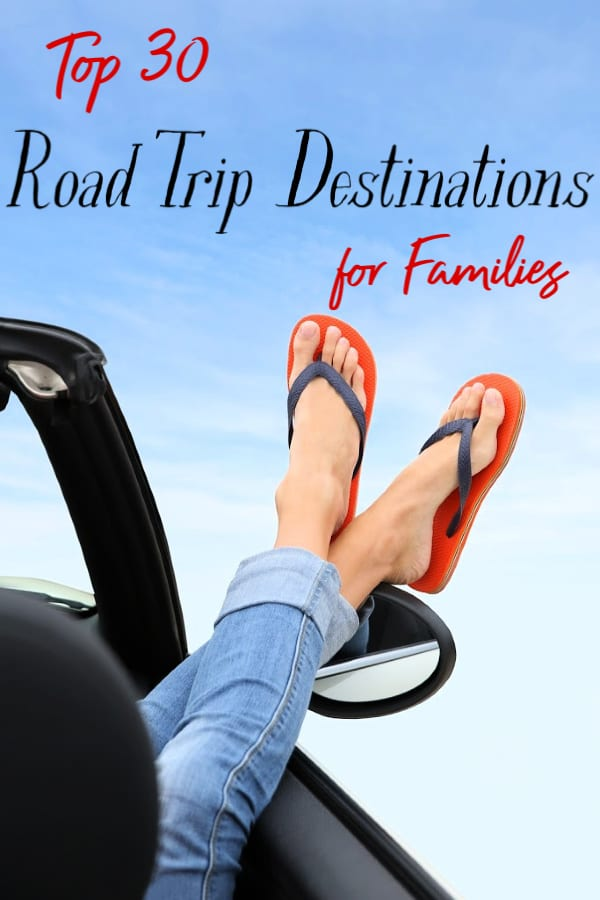 Headed on a road trip soon? If so, plan to visit at least one of these 30 best road trip destinations. If you need road trip ideas, this list will inspire!
