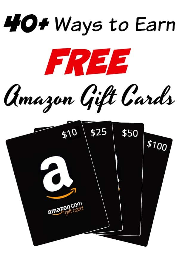 How to Earn Free Amazon Gift Cards - Tired of living paycheck to paycheck? Let me show you one way to help! This best of list has OVER 40 tried and true ways to earn FREE Amazon gift cards! Use them instead of cash and free up money for other expenses!