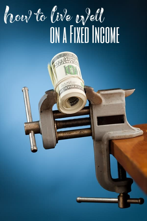 Tips for living on a fixed income - Living on a fixed income is harder than most realize. Sometimes you struggle just to make ends meet. Stop barely scraping by and let me show you know to live WELL on a fixed income!