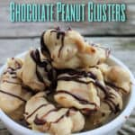 Chocolate Crockpot Candy Recipe - Candy recipes don't need to be complicated. This chocolate peanut clusters recipe is only 3 steps and tastes amazing!