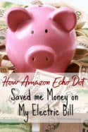 How a smart home can save you money - Two months ago I bought an Amazon Echo Dot and it is saving me money! Let me show you how to save money on your utilities with the Echo!