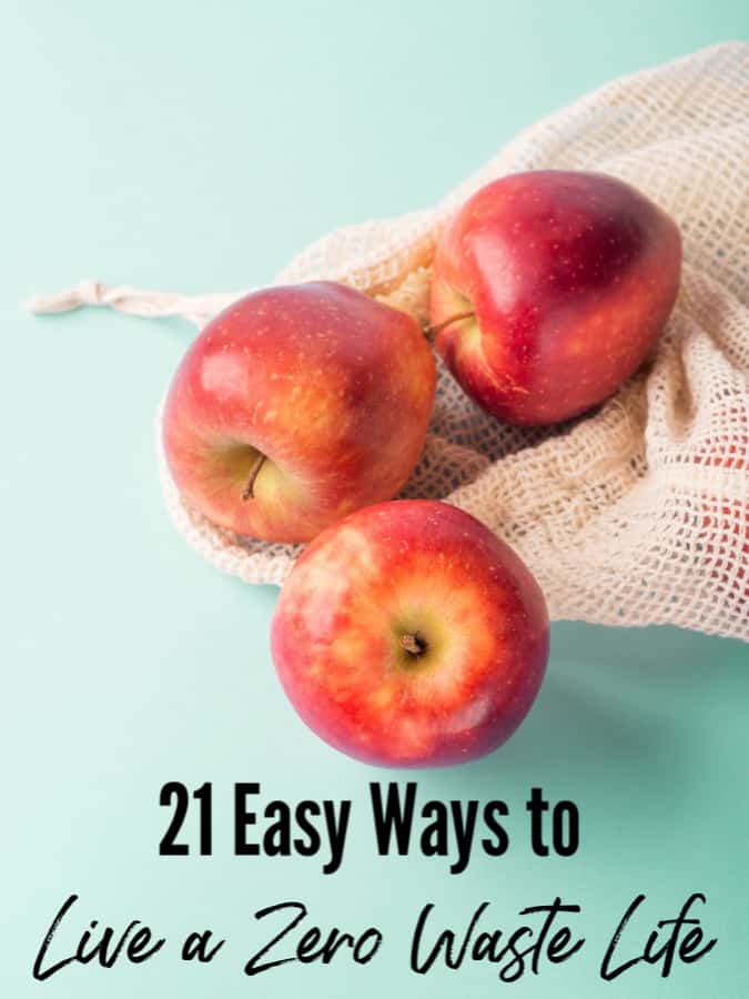 Easy Zero Waste Tips - Waste comes in all forms and costs millions each year! Use these easy ways to live a zero waste lifestyle to help save money and live simpler!