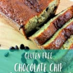 How to Make Gluten Free Banana Bread - If you love banana bread and eat a gluten free diet, check out this gluten free banana bread recipe! With the addition of chocolate chips, it's the perfect mixture of sweet and savory without any added gluten!