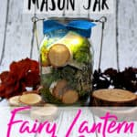 Ready to attract fairies to your fairy garden? How about an easy and cute mason jar craft? This easy mason jar fairy light is adorable and easy to make. Perfect for a weekend craft!