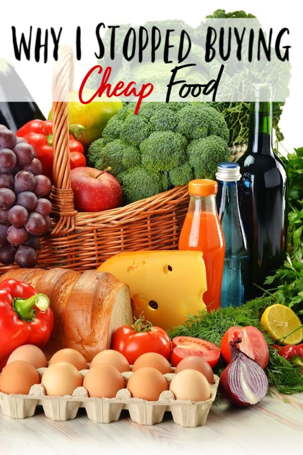 Do you buy budget foods to try and save money on your groceries? Learn why I stopped buying cheap food and what happened to my family when I did. Yes, you read that right! I STOPPED trying to save money on groceries!