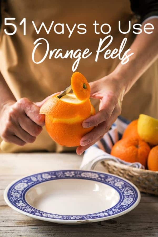 Have orange peels you don't want to throw away? Take a look at these 51 ways to use orange peels! You're sure to find some way to help you keep them from going to waste!