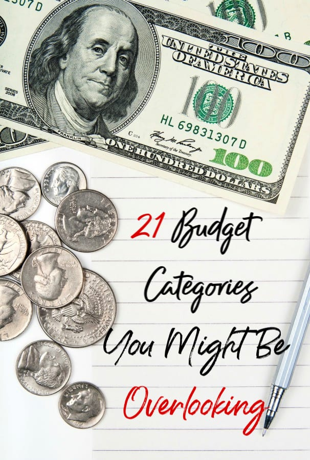 Is your personal budget out of control, but you don't know why? Make sure you aren't forgetting these budget categories and forgotten monthly expenses!