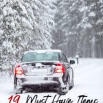 Icy weather is coming. These 19 items are must haves for anyone with a winter car kit. They'll keep you safe and warm when it's cold and snowy outside.
