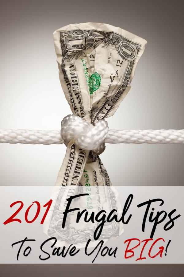 Are you ready to kick your savings into high gear? These frugal tips that will help you save money are just what you need to kick the new year off right!