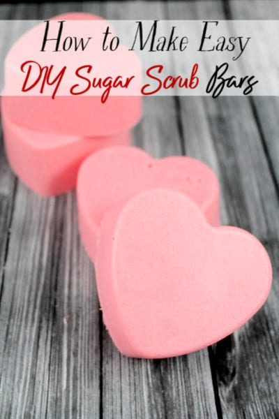 Practicing self care is so important and a great sugar scrub recipe makes that easy to do. This DIY sugar scrub recipe is less messy and leave your skin feeling amazing! All in an easy to use bar! Add them to your favorite DIY beauty products!