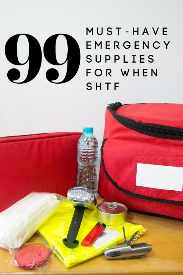 Preparing for an emergency such as bad weather, pandemic or a financial crisis? These 99 emergency supplies are MUST HAVE's in your preps!