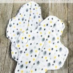 Have you switched to cloth pads? If so, you know how expensive they are! Making DIY reusable pads is not expensive though! Let me show you how to make reusable menstrual pads with this free sewing pattern!