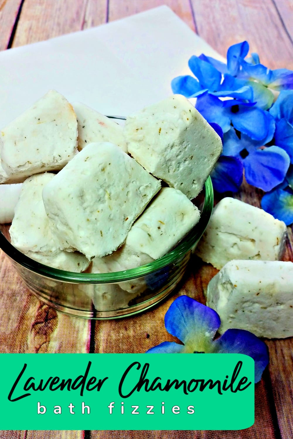 Diy Bath Fizzies With Lavender And